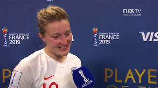 Ellen White – Player of the Match – Japan v England