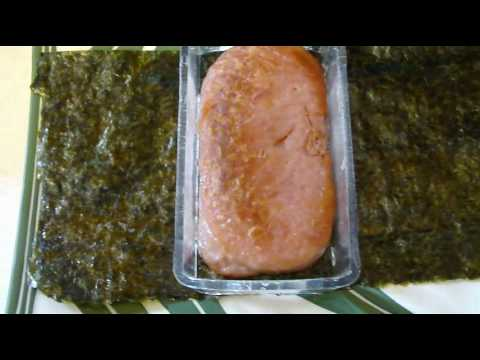 How to Make Spam Musubi and Taegu-Kim Chee Musubi