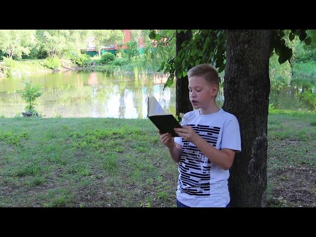 Изображение предпросмотра прочтения – АлександрЮдин читает произведение «Как здесь свежо...» А.А.Фета