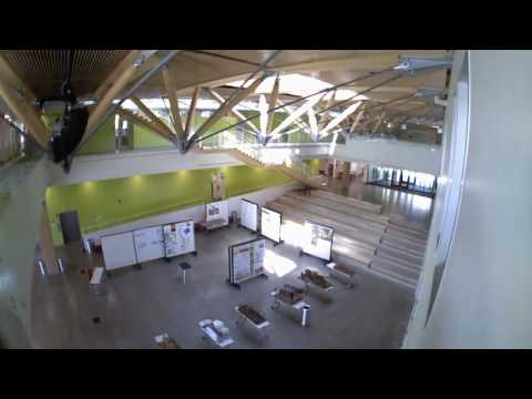7 4 2017 - UMass Design Building - East Commons