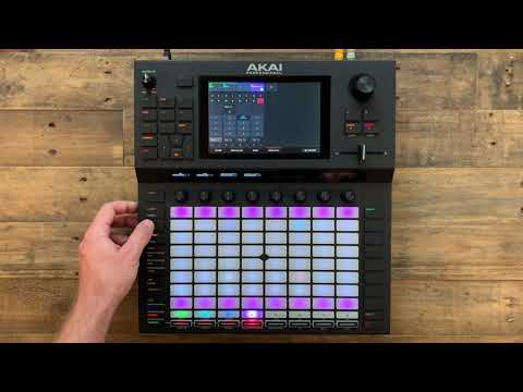 You can now load your Akai Force, MPC X and MPC Live