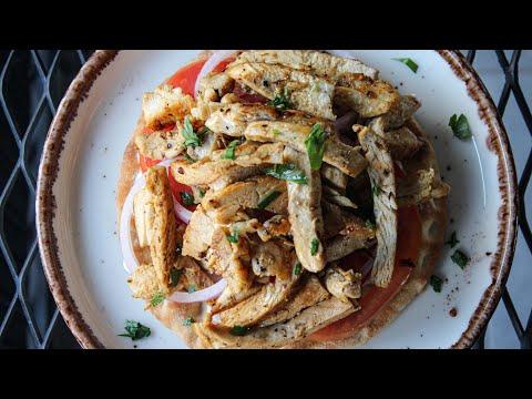 Γρήγορος Γύρος Κοτόπουλο σε ένα τηγάνι (Η συνταγή του τεμπέλη) - Quick Greek Chicken Gyro