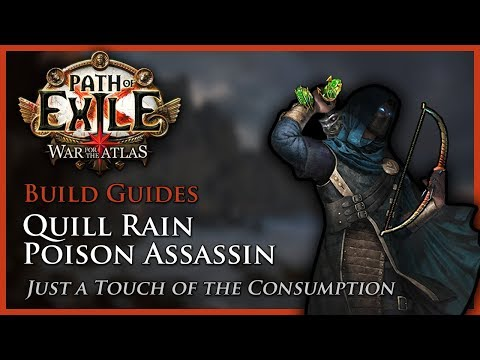Path of Exile [3.4]: Quill Rain Poison Assassin - Build Guide