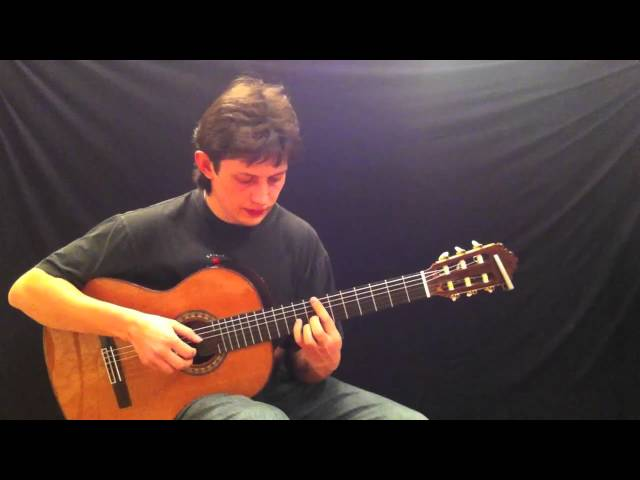 Mikhail Olenchenko - Sting-Saint Agnes and the burning train guitar cover / ?????? ?????????