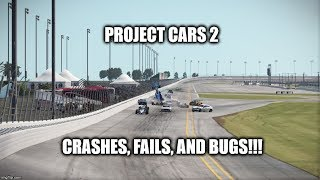 Project CARS 2 Crashes Fails and Bugs Compilation 1