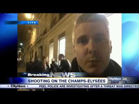 Video: One policeman killed in Champs Elysées shooting