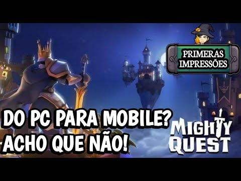 Do PC Para Mobile? FALA SÉRIO! The Mighty Quest For Epic Loot / GAMEPLAY ANDROID BR Download