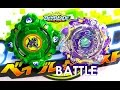 Beyblade Burst ベイブレードバースト Draciel Shield .C.P Battle 1 Vs Nova Neptune .Q. N