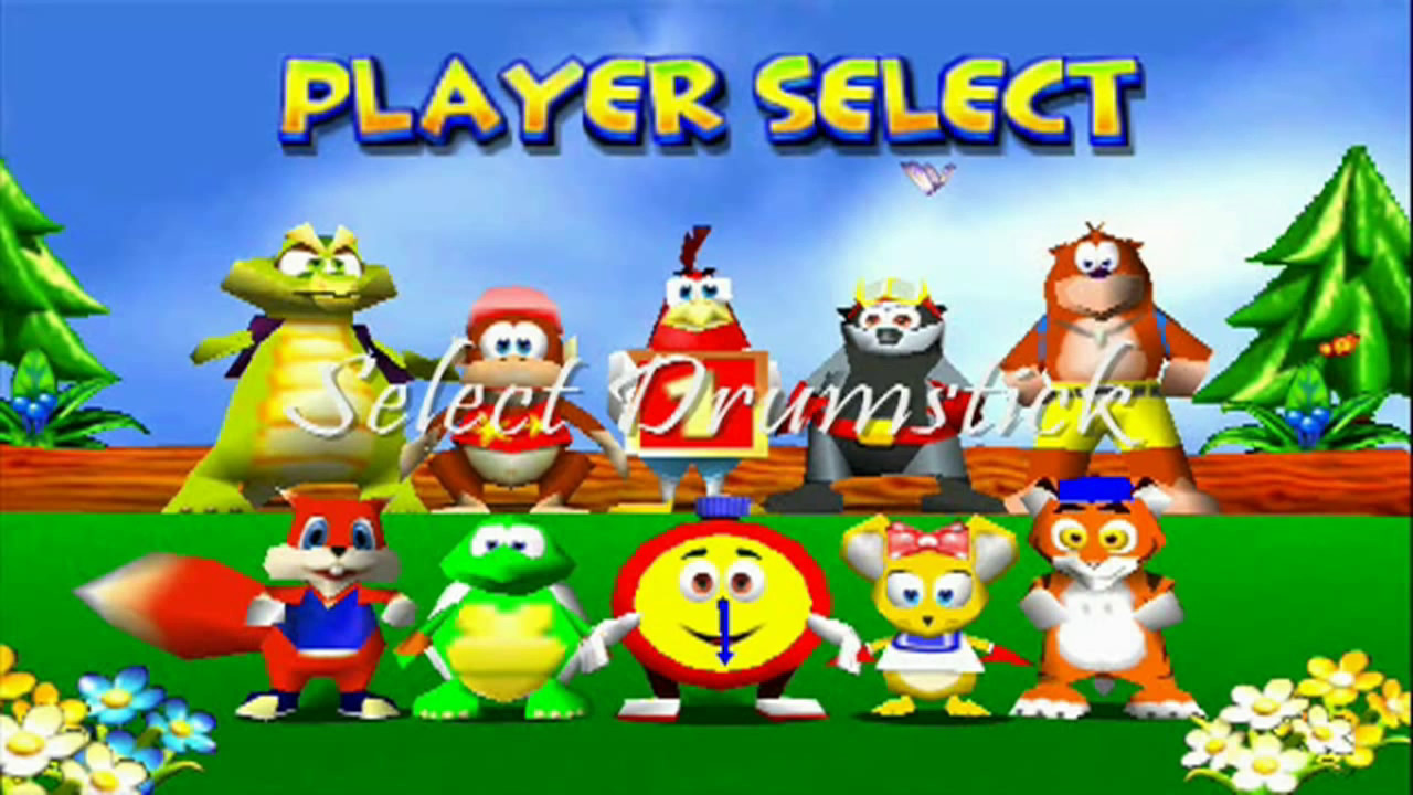 Diddy Kong Racing ST - Character Select Themes - YouTube