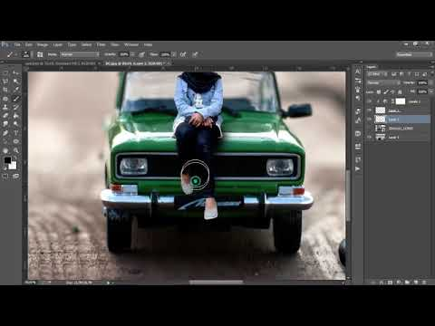 Keren, Cara Edit foto Miniatur Effect dengan Photoshop   Photoshop Tutorial Indonesia thumbnail