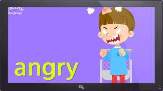 Kids vocabulary - Feel (Feelings or Emotions) - Are you happy? - English video for kids