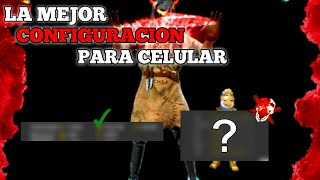 💥LA MEJOR CONFIGURACION PARA CELULAR - SIN DPI - TAMAÑO DEL BOTON | AUTOAPUNTADO? FREE FIRE