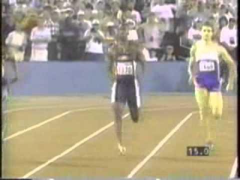 Michael Johnson 400m Final, 43.49 - 1996 Atlanta Olympics