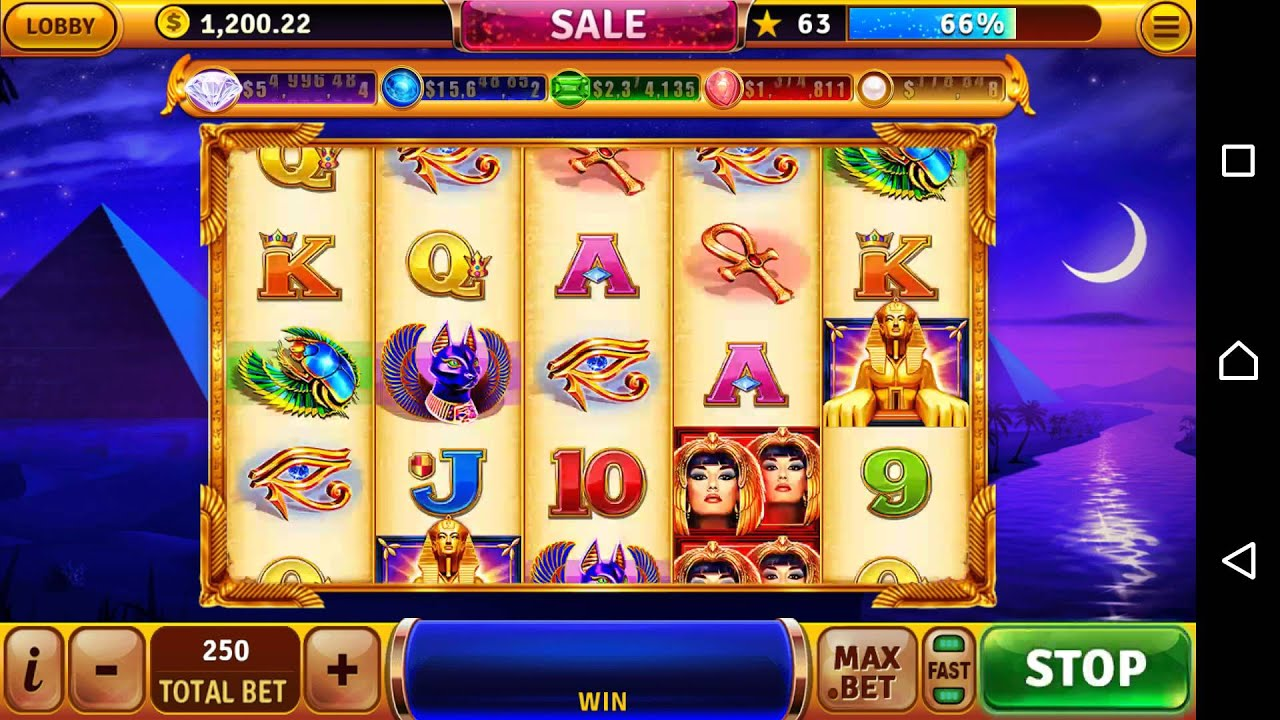 House Of Fun Slots Beauty Of The Nile