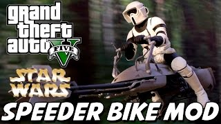 GTA V – Star Wars Speeder Bike MOD