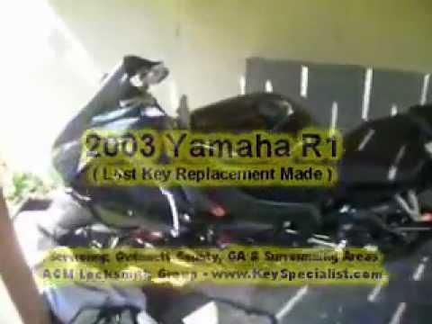 Lost Key To Yamaha Motorcycle