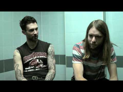 Dilly with Adam and James of Maroon 5