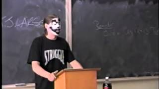 Juggalo gives college speech on the Dark Carnival