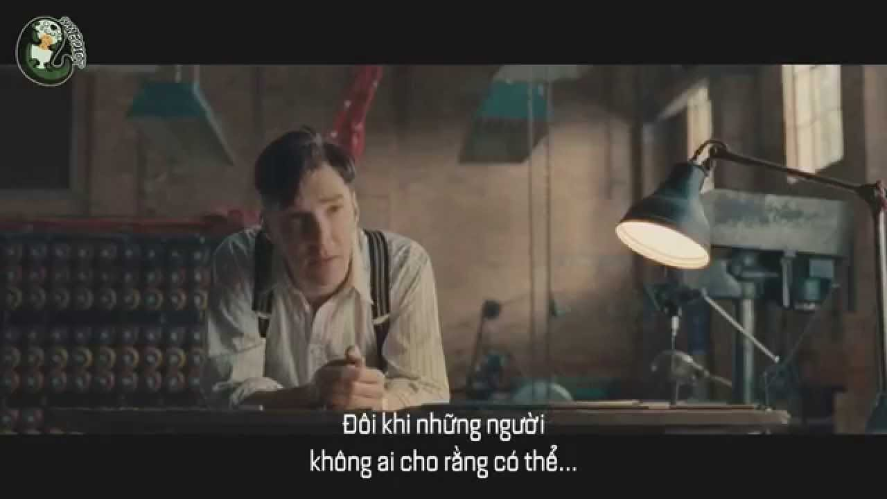 [SANEDICT's] The Imitation Game – Official Trailer (vietsub)