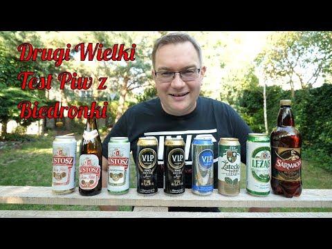 Drugi Wielki Test Piw z Biedronki