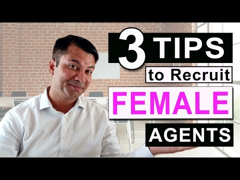 3 Tips to recruit FEMALE Insurance Agents. [ HINDI ]