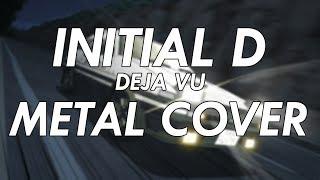 Initial D - Deja Vu Metal Cover