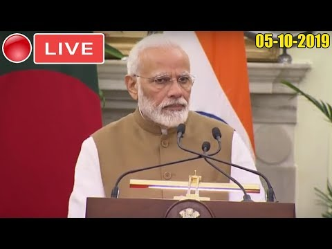BJP LIVE | PM Modi And Bangladesh PM Sheikh Hasina Launch Various Projects : 05-10-2019