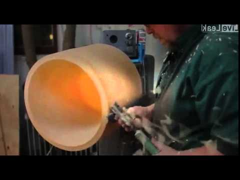 Making a Wooden Lamp Shade