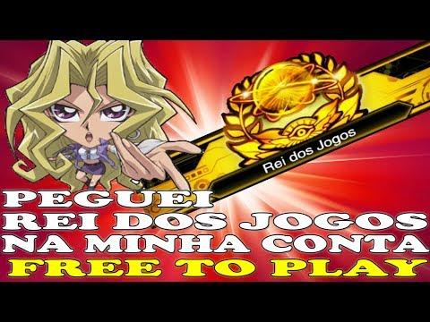 PEGUEI REI DOS JOGOS COM MINHA CONTA FREE TO PLAY - YU GI OH! DUEL LINKS