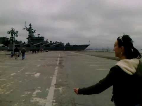Russian Warship in San Francisco, CA
