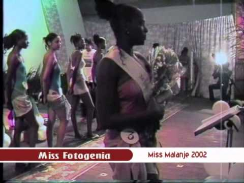 MISS MALANGE 2002 - ANGOLA - DESFILE