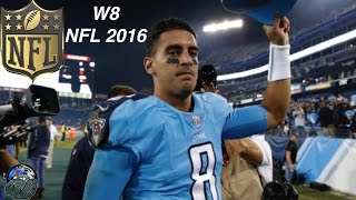 Titans Destroy Jags From Start To Finish! Should The Jags Be an NFL Team? NFL W8 TNF 2016