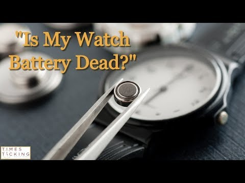 How Long Should My Watch Battery Last?