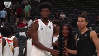 James Wiseman and Cole Anthony take MVP honors at 2019 Jordan Brand Classic!