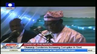 Legislative Arm Of Government Is Corrupt -- Obasanjo