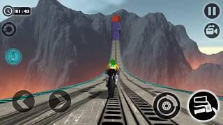 Final Level of Impossible Motor Bike Tracks 3D - Motor Cycle Games - Dirt Bike Racing Games
