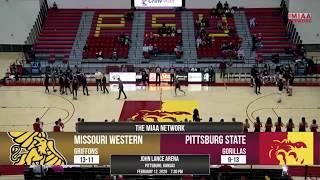Missouri Western at Pittsburg State - MBB - Derek Zimmerman-Guyer Sports Block