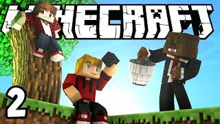 Minecraft SkyBlock Survival Episode 2! w/Mitch & Jerome