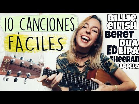 10 canciones con 4 acordes TUTORIAL (para guitarra, ukelele, piano..) *Fácil*