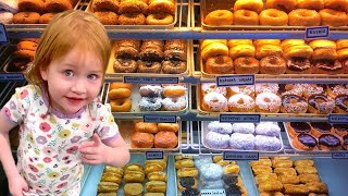 DONUT SURPRISE! Ultimate day with baby brother Niko and Dad goes to School??