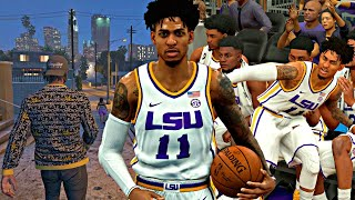 NBA 2K20 MyCAREER: The Journey #18 - GETTING DISRESPECTED BY NBA SCOUTS! FALLING ON MY TEAMMATES!