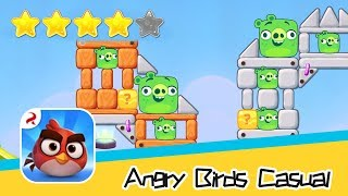 Angry Birds Casual Level 50 Walkthrough Sling birds to solve puzzles! Recommend index four stars