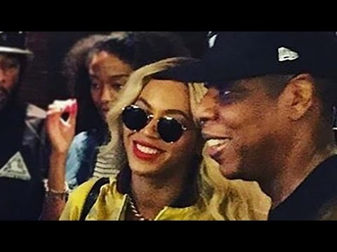 Beyonce & Jay Z Bring Good Luck To The Cowboys