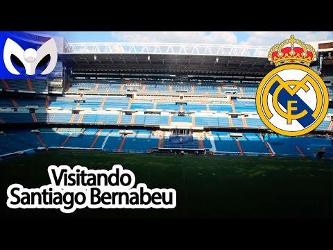 Visitando Estadio Santiago Bernabeu (REAL MADRID)
