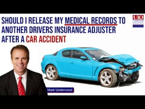 Should I release medical records to insurance company?