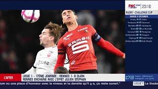 Ligue 1 - Les débuts de Julien Stéphan sur le banc du Stade rennais