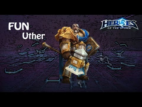 видео: heroes of the storm: top 1 eu (6 выпуск) - Утер