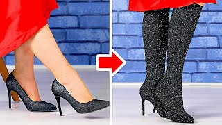 Amazing Hacks And Ideas For Your Shoes And Clothes