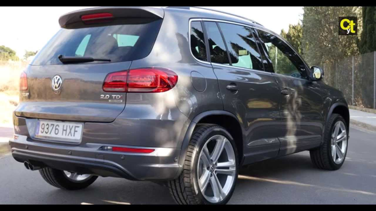 test drive vw tiguan 2 0 tdi 4motion dsg7v video 4k. Black Bedroom Furniture Sets. Home Design Ideas