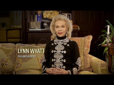 Stories That Shape Us   Lynn Wyatt On The Importance Of Reading (Extended)